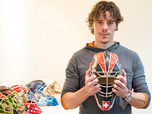 Eishockey-Torhüter Jonas Hiller