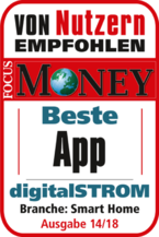 digitalSTROM Smart Home-App Testsieger 2018