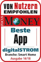 digitalSTROM Smart Home-App Testsieger 2018
